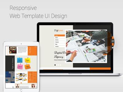 Creativ Agency Web UI