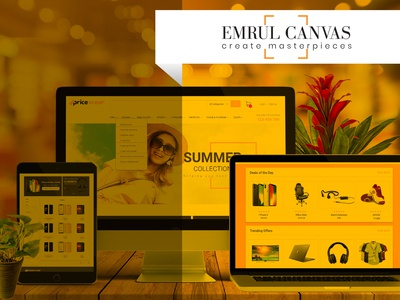 e commerce web UI design