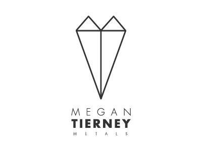 Megan Tierney Metals Logo logo jewelry jeweler metalsmith metal geometry