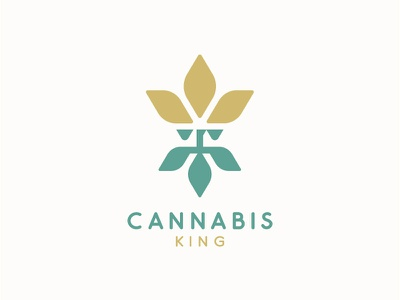 Cannabis King extract cbd crown beard cannabis people cannabis logo for sale cannabis king logo designer logo design health medicine hemp oil hemp logo weed hippie king marijuana logo cannabis branding cannabis logo