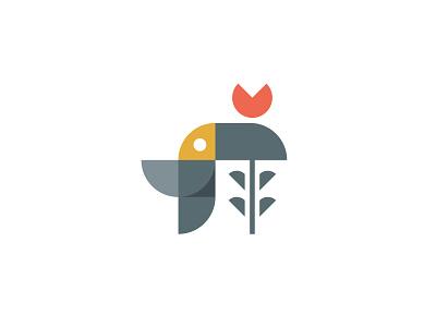 Toucan cute toucan minimalist toucan minimal logo design logo designer abstract toucan logo for sale toucan brand flower illustration geometric toucan tropical bird bird natural nature garden logo plant toucan and flower flower toucan logo toucan