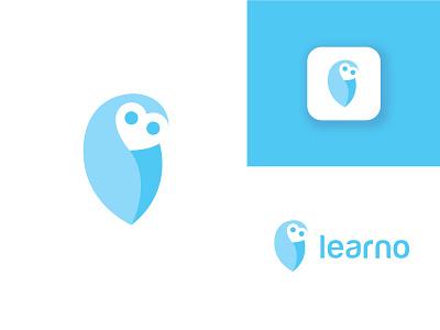 Owl soft illustration design animal minimal minimalist negative space minimalist owl logo designer logo design owl brand wise bird smart learn app learning technology software app logo owl logo owl