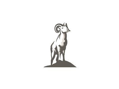 Ram proud colorado illustration logo designer wildlife mountains horns animal bighorn sheep logo design ram