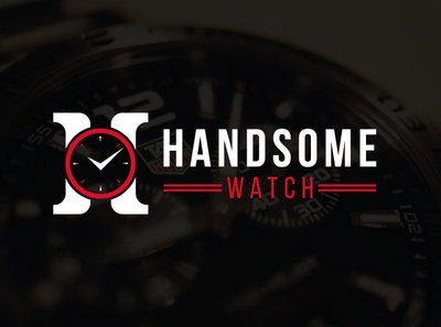Handsome Watch Logo Design