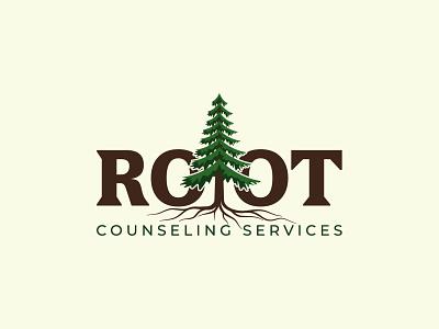 Root Counseling Services Logo professional logo pine roots custom vector modern minimalist business unique design creative design professional combination mark logo design graphic design
