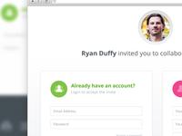 Collaboration Invite