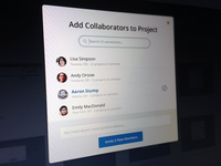 Add Collaborator Modal