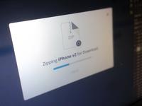 Zipping Modal