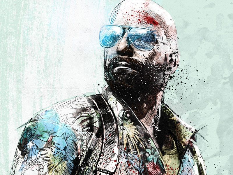 Video Game Illustration Max Payne 3 By Sergio Ingravalle On Dribbble