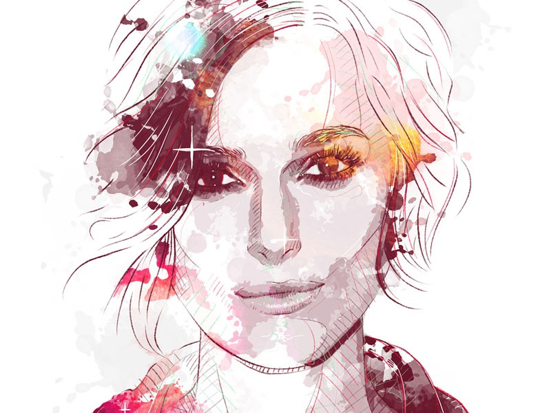Digital Portrait Illustration: Keira Knightely by Sergio ...