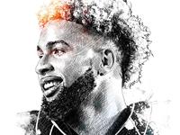 ESPN Illustration: Odell Backham Jr.
