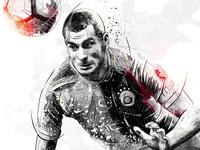 Sport Illustration: Eren Derdiyok