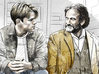 Movie Illustration: Good Will Hunting