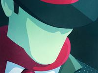 Graphic Illustration: Hat & Tie