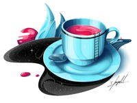 Graphic Illustration: Cup