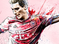 FC Bayern Munich Illustration: Leon Goretzka