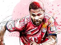 FC Bayern Munich Illustration: Serge Gnabry
