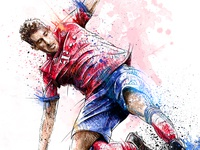 FC Bayern Munich Illustration: Javi Martínez