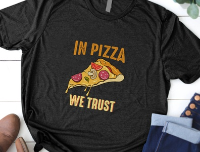 Pizza T Shirt Design