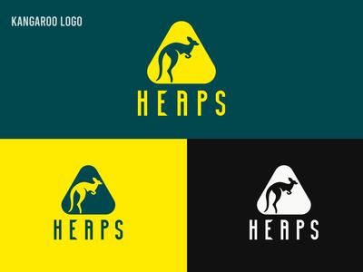 Kangaroo Logo, Heaps Logo Design