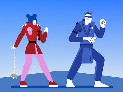 Ready for the next one characterdesign concept art cyberpunk design illustrator adobe illustration
