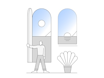 Sunset sunset health illustrator adobe vector illustration
