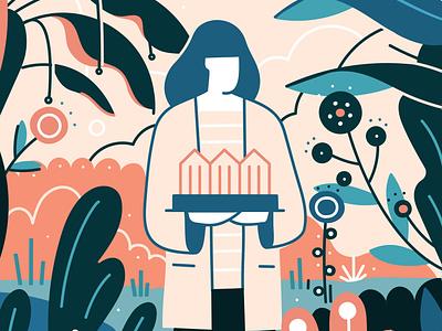 Picnic nature design illustrator adobe vector illustration