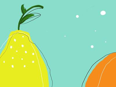 LemmonLove adobe fresco illustration graphic design lemon