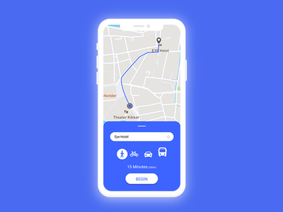 Location Tracker navigation hotel map daily ui locaiton location tracker interface adobe photoshop dailyui020 dailyuichallenge figmadesign uiux uidesign ui figma dailyui graphic design
