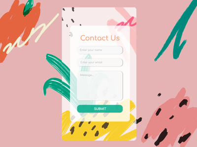 Contact Us contactus form contact us dailyui 028 dailyui028 dailyuichallenge uiux uidesign design dailyui ui adobe ilustrator illustration graphic design