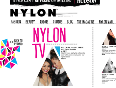 NYLONMAG site