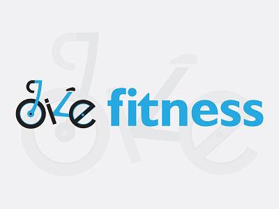 Logo for Bike Fitness fitness logotype logo bike logo identity branding