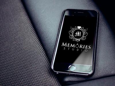 Wedding logo - Memories mockup memories wedding logo