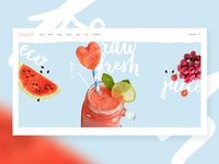Frappé - Smoothie, Juice Bar and Organic Food Theme