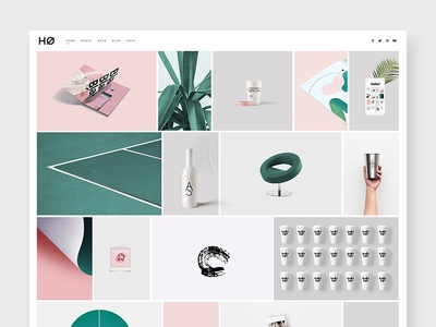Måne - A Modern Portfolio Theme for Creatives