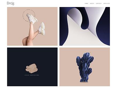 Minimal Portfolio creative portfolio art portfolio ui freelance portfolio wordpress website creative web design creative design