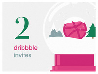 x2 dribbble invite giveaway!