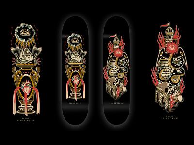 REVOL SB / BLACK ROW print design skate traditional graphic design typography design vector logo tattoo illustration art work branding skatebord brand design
