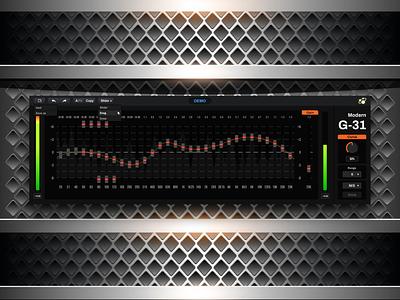 Modern G 31 music design ux 设计 ui