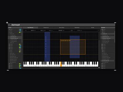 Zentreadi music design 设计 ux ui