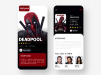 Movies App Concept