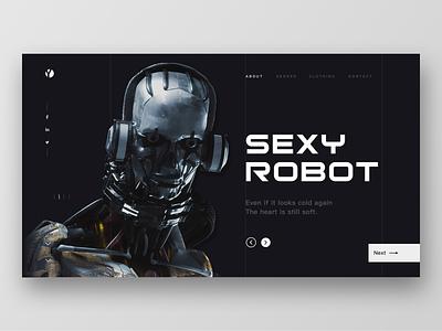 SEXY ROBOT cyborg robots science and technology future illustration fashion design 设计 ui ux