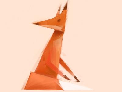 Fox fox illustration