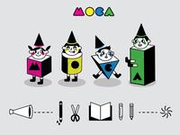 MOCA Summer Art Camp Visual Design