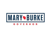 Mary Burke for Governor of Wisconsin logo