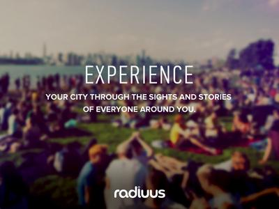 Radiuus - Experience FB ad