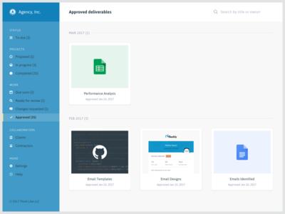 Agency portal custom portal content deliverables