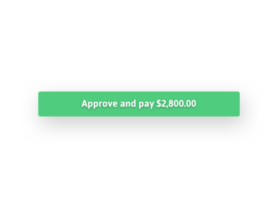 The One True Button no more invoices payments freelancing