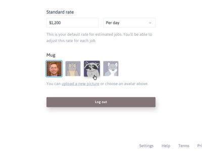 I Choose You profile illustrations avatars