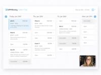 Video Chat Calendar